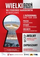 Wielki Dzień Otwarty Stadionu Narodowego w Warszawie